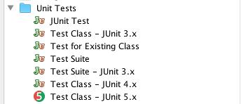 JUnit 5 Templates