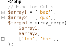 Trailing commas in function calls in PHP 7.3