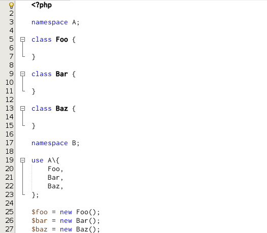 nb100 php editor php version 72 trailing commas in list syntax