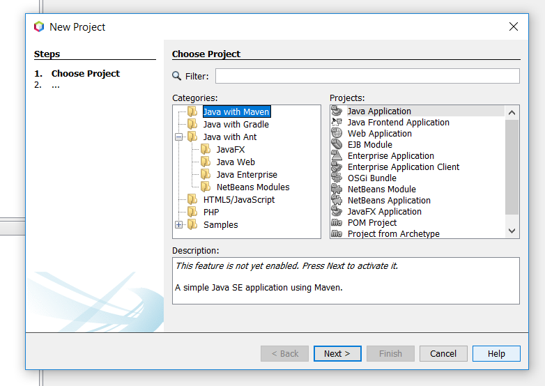 Apache NetBeans (incubating) 11 0 Features