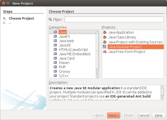 Java Modular Application