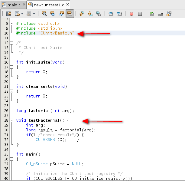 Adding Unit Tests to a C Project - NetBeans IDE Tutorial