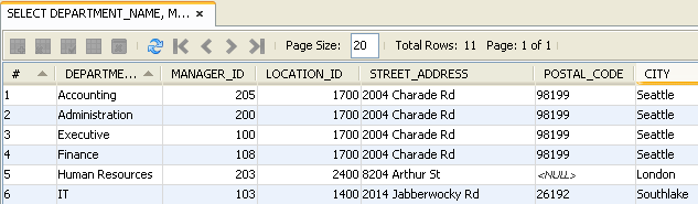 Connecting to Oracle Database from NetBeans IDE