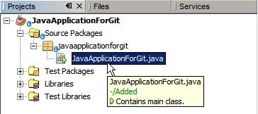 Using Git in Apache NetBeans