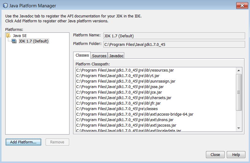 Using Oracle Java SE Embedded Support in NetBeans IDE