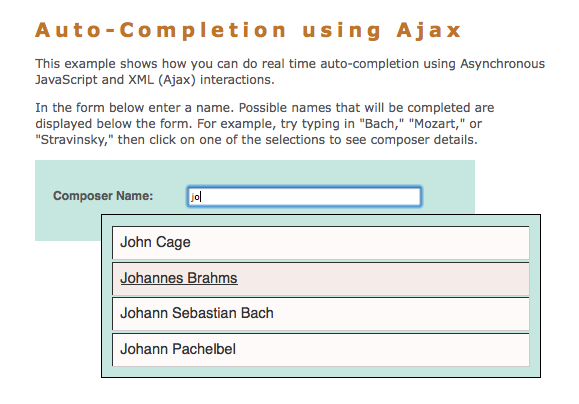 Introduction to Ajax for PHP Web Applications
