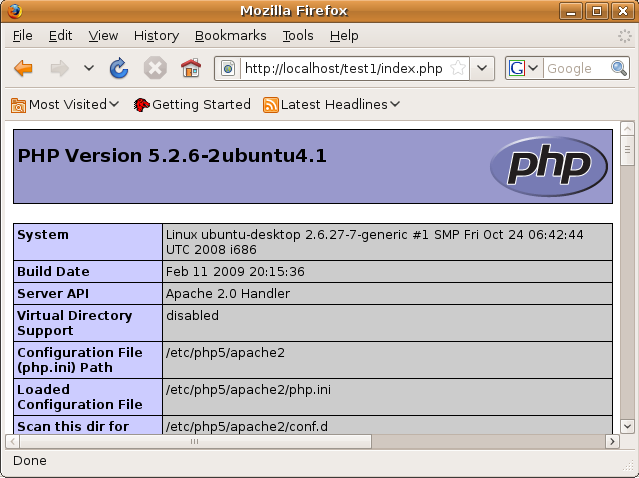 Configuring the PHP Development Environment in Linux Ubuntu