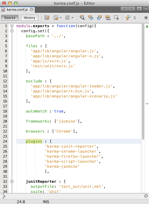 Debugging and Testing JavaScript in an HTML5 Application